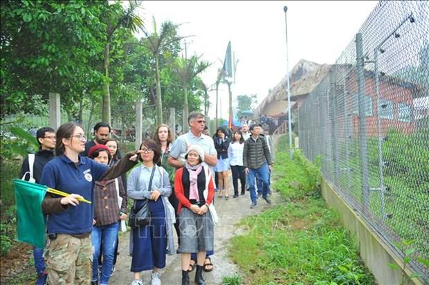 Inauguration d'un centre de protection d'ours a Ninh Binh hinh anh 1