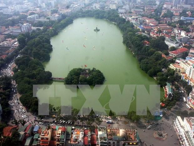 Hanoi, ville pour la paix hinh anh 1