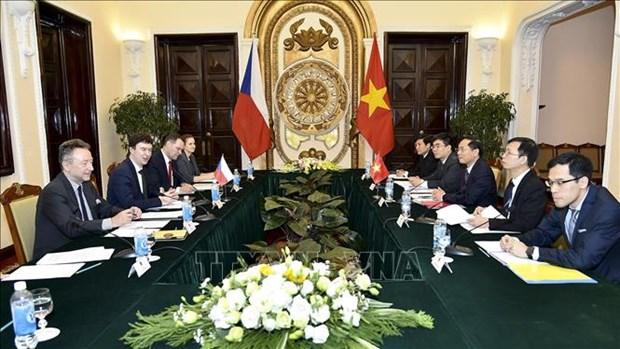 La consultation politique Vietnam-R.tcheque hinh anh 1
