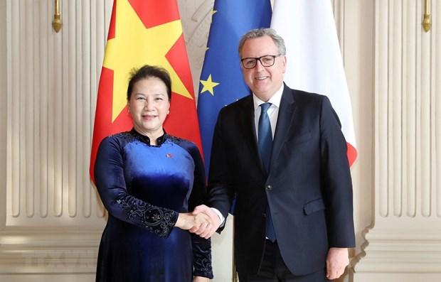 Le Vietnam prend en haute consideration ses relations avec la France hinh anh 1