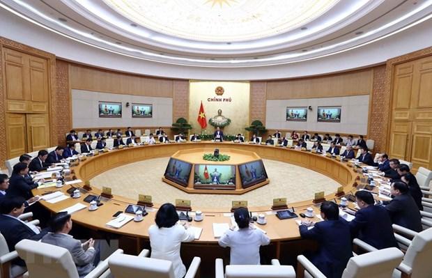 Reunion periodique du gouvernement sur la situation economique en trois mois hinh anh 1
