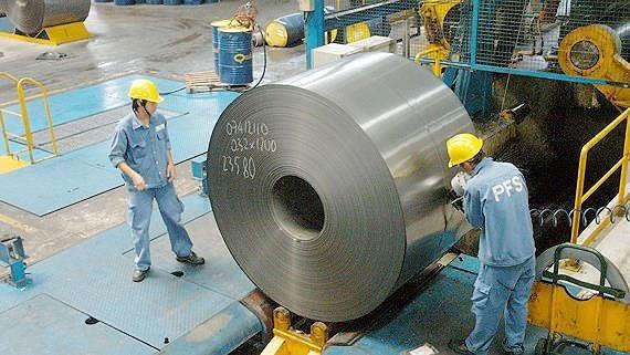 Les exportations nationales de l'acier et du fer en premier trimestre hinh anh 1