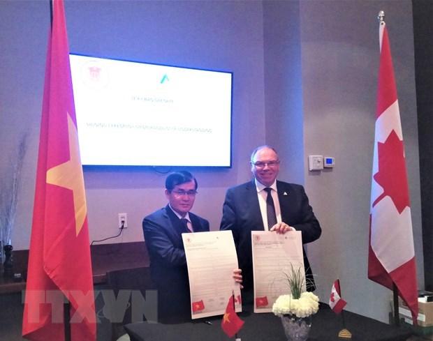 Canada et Vietnam promeuvent leur cooperation dans l'audit hinh anh 1