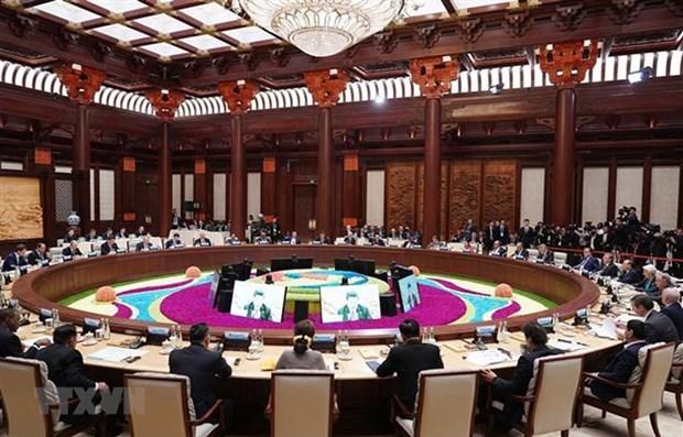 Le PM a la Table ronde des dirigeants du deuxieme Forum de