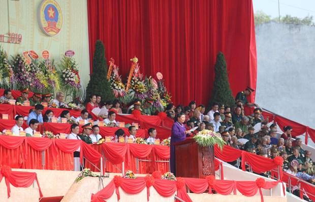 Celebration de grands evenements de Dien Bien hinh anh 1