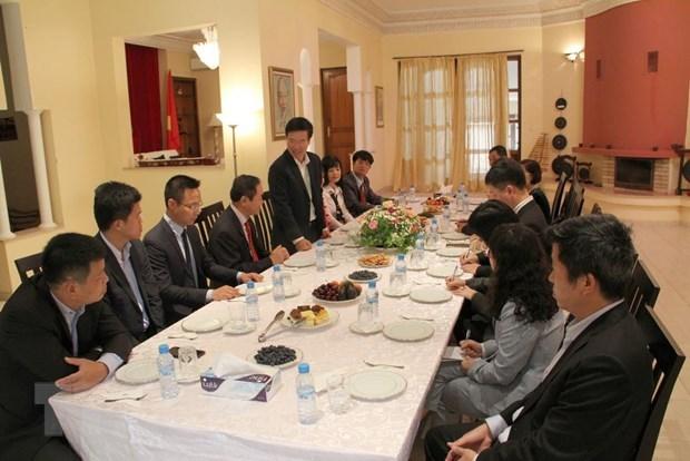 Une delegation du Parti en visite au Maroc hinh anh 1