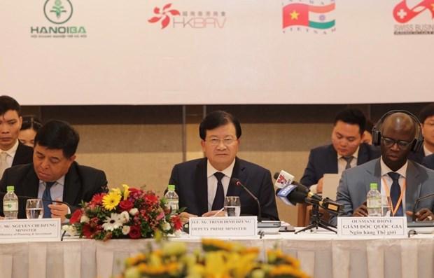 Les entreprises sont le moteur de la croissance, selon le vice-PM Trinh Dinh Dung hinh anh 1