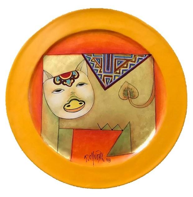 La peinture des 12 signes du zodiaque vietnamien dans la vie contemporaine hinh anh 4