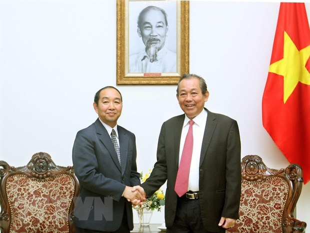 Promotion des liens entre la Cour populaire supreme du Vietnam et du Laos hinh anh 1