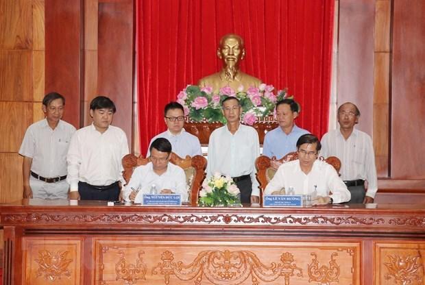 Renforcement de la cooperation entre la VNA et Tien Giang hinh anh 1