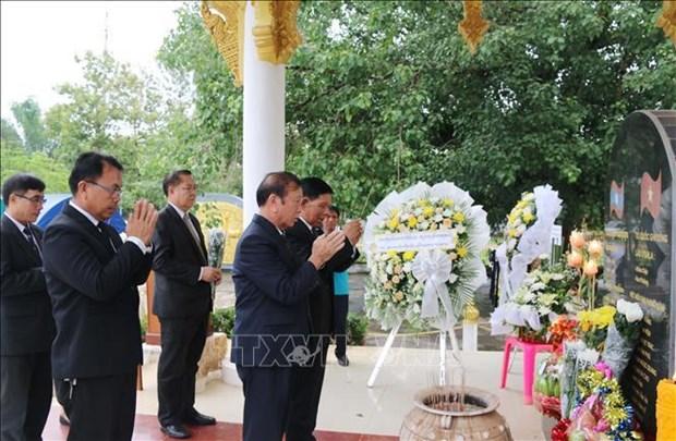 Un grand culte aux morts pour la Patrie organise au Laos hinh anh 1