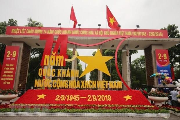 Fete nationale du Vietnam : Message de felicitations du president indien hinh anh 1