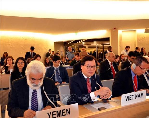 Le Conseil des droits de l'homme se concentre sur le changement climatique hinh anh 1