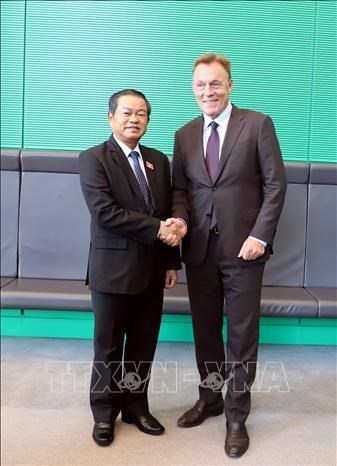 Le vice-president de l'AN, Do Ba Ty, en visite de travail en Allemagne hinh anh 1