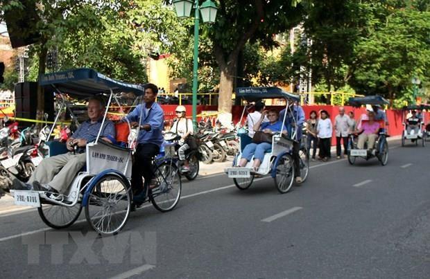 Pres de 22 millions de touristes a Hanoi en 9 mois hinh anh 1