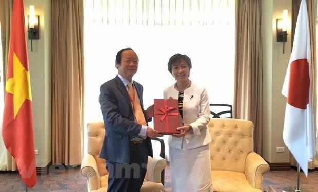 Le Japon soutient le Vietnam dans le traitement des dechets plastiques et oceaniques hinh anh 1