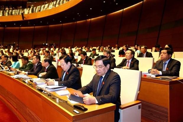 AN : debat sur les questions des cadres, fonctionnaires et employes hinh anh 1
