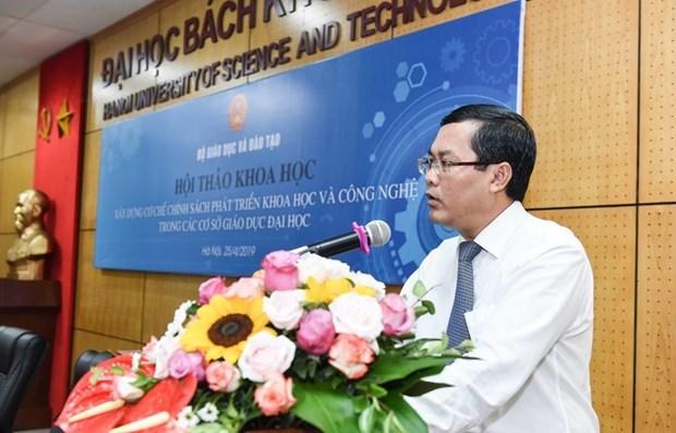 Un vice-ministre de l'Education partage la vision de l'education au Vietnam hinh anh 2