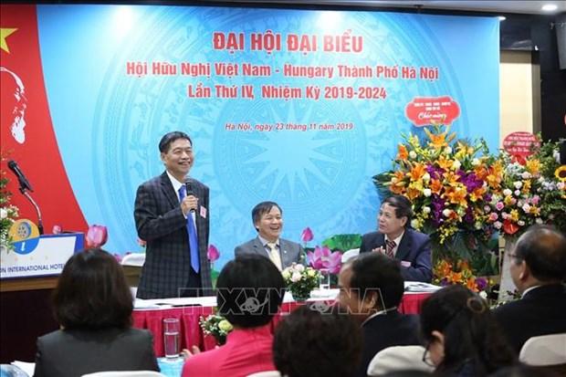 Congres de l'Association d'amitie Vietnam-Hongrie de Hanoi hinh anh 1