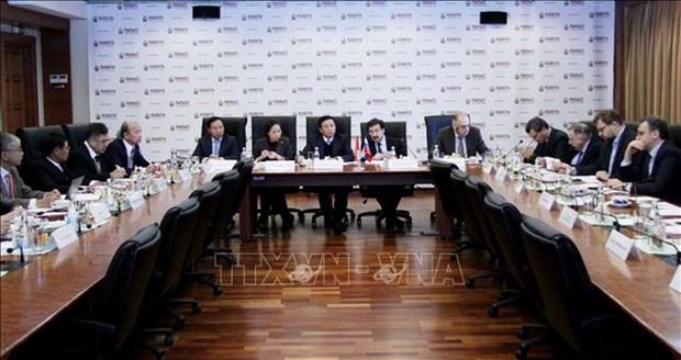 Une delegation de l'Academie politique nationale Ho Chi Minh en visite de travail en Russie hinh anh 1