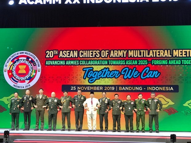 La 20e reunion multilaterale des chefs d'armee de l'ASEAN hinh anh 1