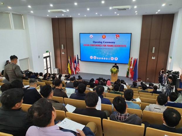Conference des jeunes scientifiques de l'ASEAN 2019 a Hanoi hinh anh 1