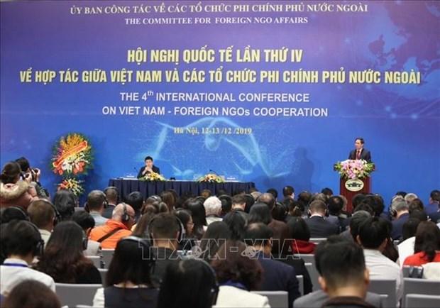 La 4e conference internationale sur la cooperation entre le Vietnam et les ONG etrangeres hinh anh 1