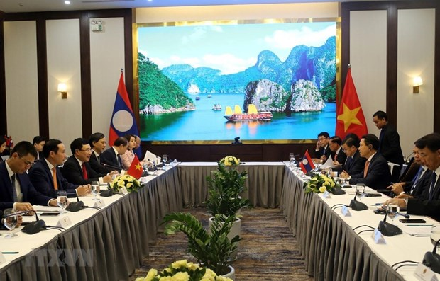 Vietnam-Laos : la 6e consultation entre les deux ministeres des AE hinh anh 1