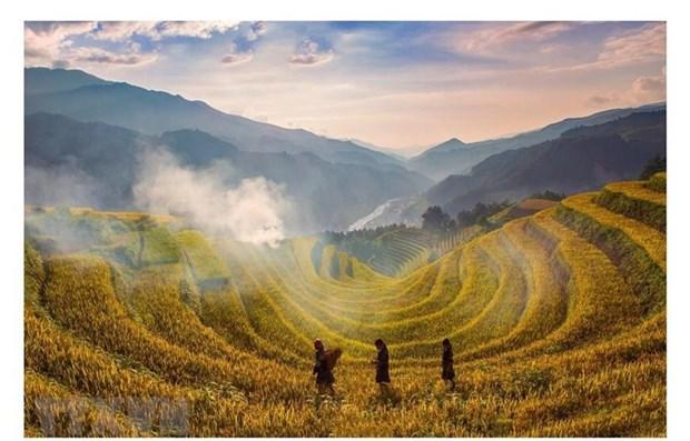CNBC fait l'eloge de la beaute de Mu Cang Chai hinh anh 1