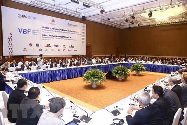 Forum d'affaires annuel 2019 : moteur de la croissance economique et du developpement hinh anh 1
