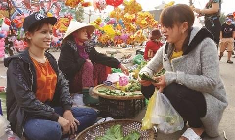 Cho Go, le marche qui se tient uniquement le Jour de l'An hinh anh 1