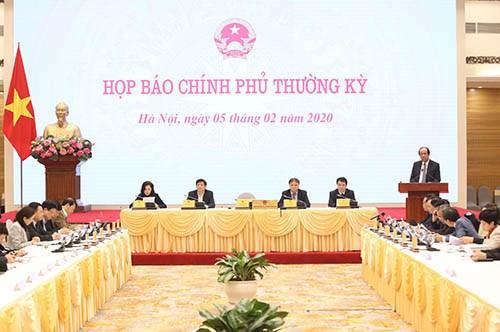 Point presse du gouvernement sur le nCoV hinh anh 1