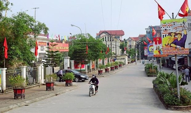 Hanoi compte six districts repondant aux normes de la Nouvelle ruralite hinh anh 1