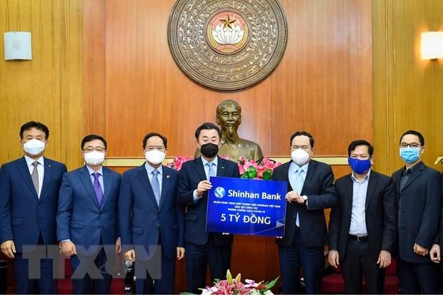 La Republique de Coree soutient financierement la lutte du Vietnam contre le COVID-19 hinh anh 1