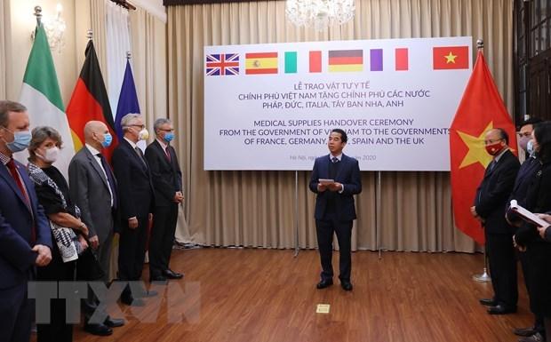 Coronavirus: la presse allemande apprecie l'assistance du Vietnam a des pays europeens hinh anh 1