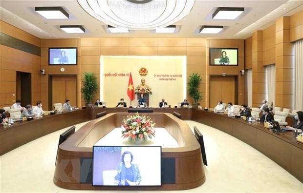 Le Comite permanent de l'AN de la 14e legislature tiendra sa 45e reunion hinh anh 1