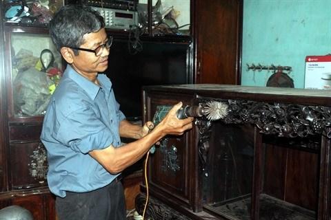Le plus jeune menuisier du pays raconte la construction du mausolee de l'Oncle Ho hinh anh 1