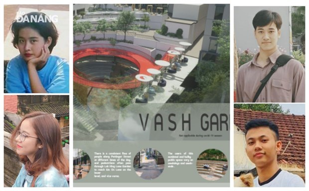 Des etudiants de Da Nang terminent finalistes du concours d'architecture de Hong Kong hinh anh 1