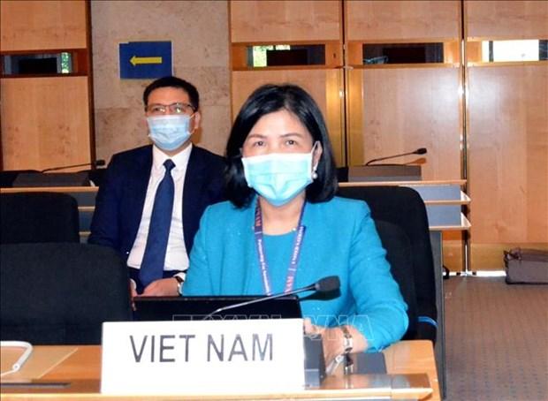 Le Vietnam souligne la garantie des droits a la sante et a la securite des personnes hinh anh 1