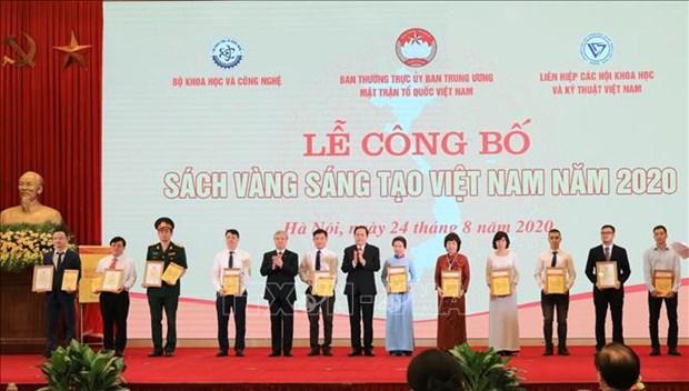 Publication du Livre d'or de creativite du Vietnam 2020 hinh anh 1