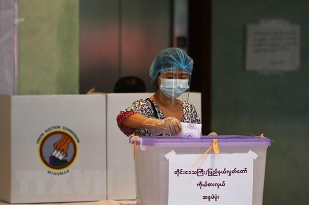 Debut des elections generales au Myanmar hinh anh 1