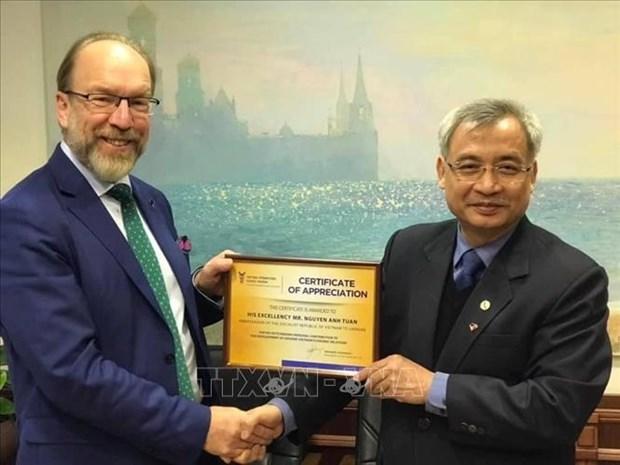 Renforcement des relations de cooperation entre le Vietnam et l'Ukraine hinh anh 1