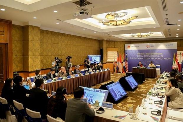 L'ASEAN discute de la transformation numerique dans l'education hinh anh 1