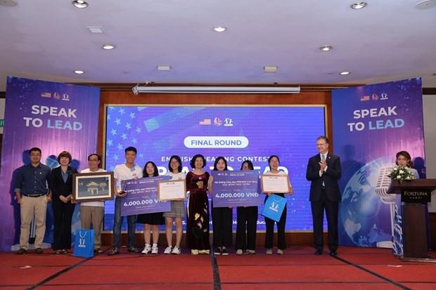 Des eleves vietnamiens donnent des initiatives pour promouvoir les relations Vietnam-Etats-Unis hinh anh 2