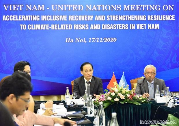 L'ONU s'engage a soutenir le Vietnam dans sa reponse au changement climatique hinh anh 1