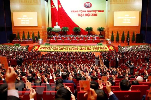 Le 13e Congres national du Parti debute ce mardi matin hinh anh 1