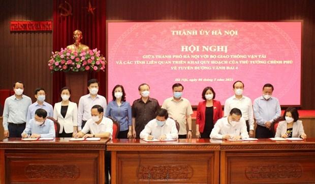 Hanoi : discussion de la construction du peripherique 4 hinh anh 1