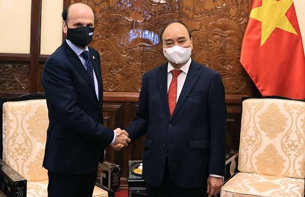 Argentina quiere establecer una alianza estratégica con Vietnam hinh anh 2