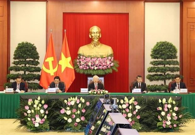 Le leader appelle a promouvoir la solidarite et la responsabilite communautaire hinh anh 1