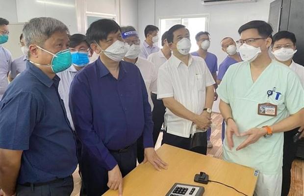 COVID-19 : HCM-Ville appliquent des mesures plus efficaces pour le traitement des cas infectes hinh anh 1
